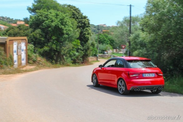 test routier Audi S1