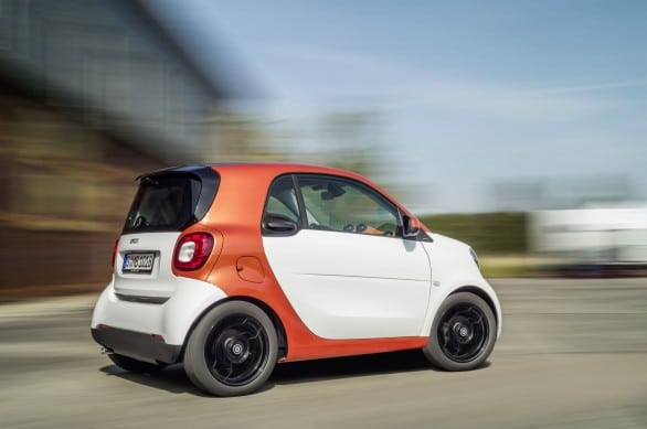 vue 3-4 ar smart fortwo 2014