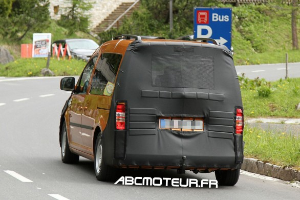 vue ar VW Caddy 2015