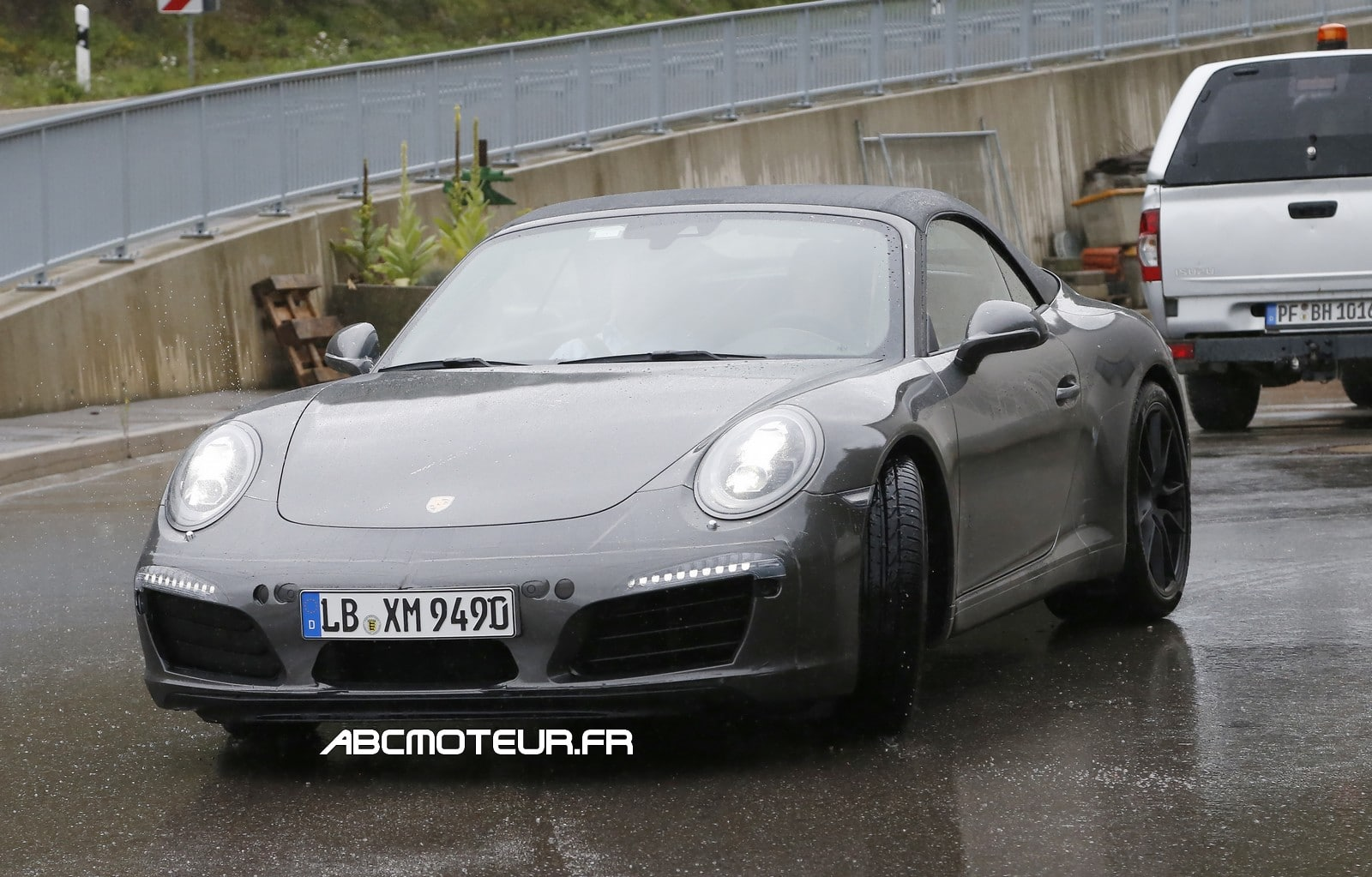La future Porsche 911 (992) photographiée en test