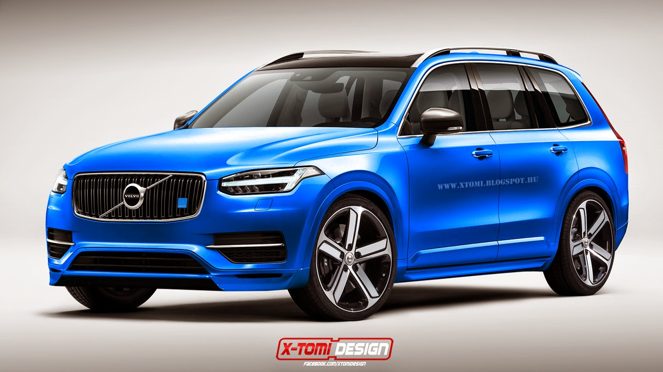 voici les volvo xc90 polestar et xc90 pickup. Black Bedroom Furniture Sets. Home Design Ideas