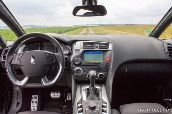 interieur Citroen DS5 Faubourg Addict