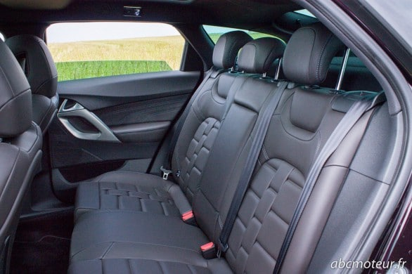 places arriere Citroen DS5