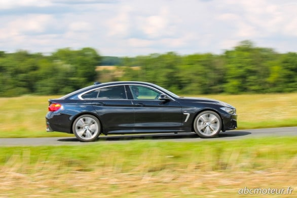 roulage BMW Serie 4 Gran Coupe 435i