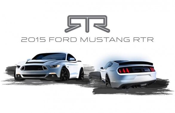 teasing Ford Mustang RTR 2015