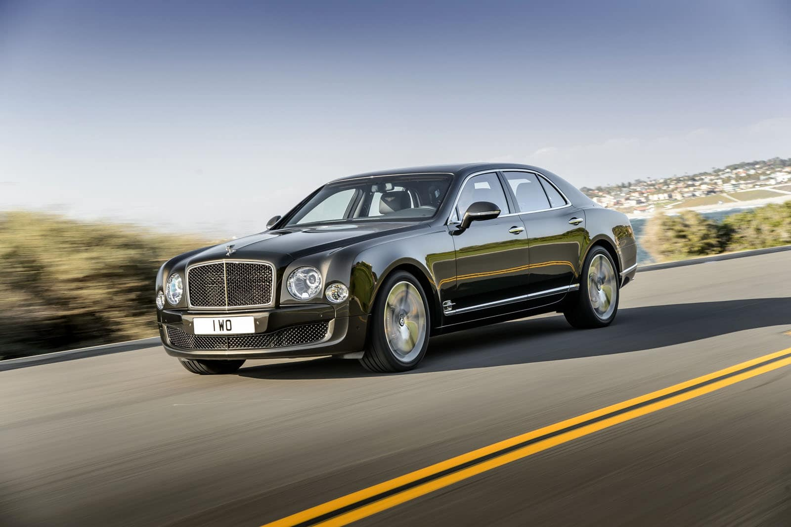 Une Mulsanne Speed de 537 ch chez Bentley en 2015