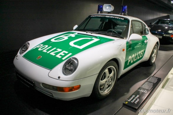 Porsche 911 Carrera Coupe Polizei (1996)