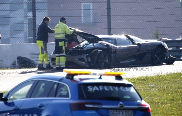 accident Koenigsegg Agera R nordschleife