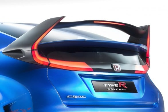 aileron Civic-Type-R -Concept Paris