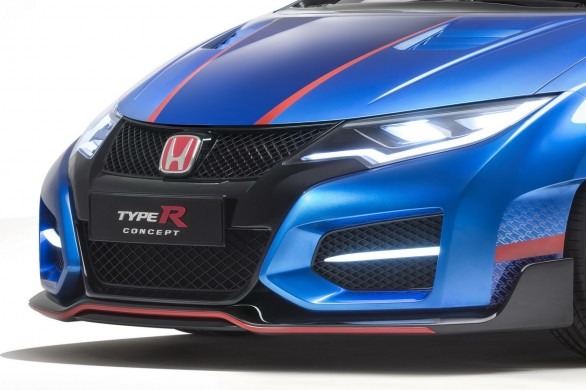 avant Civic-Type-R -Concept Paris