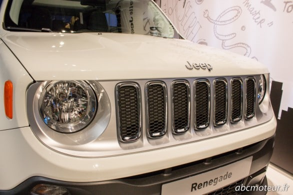 calandre Jeep Renegade