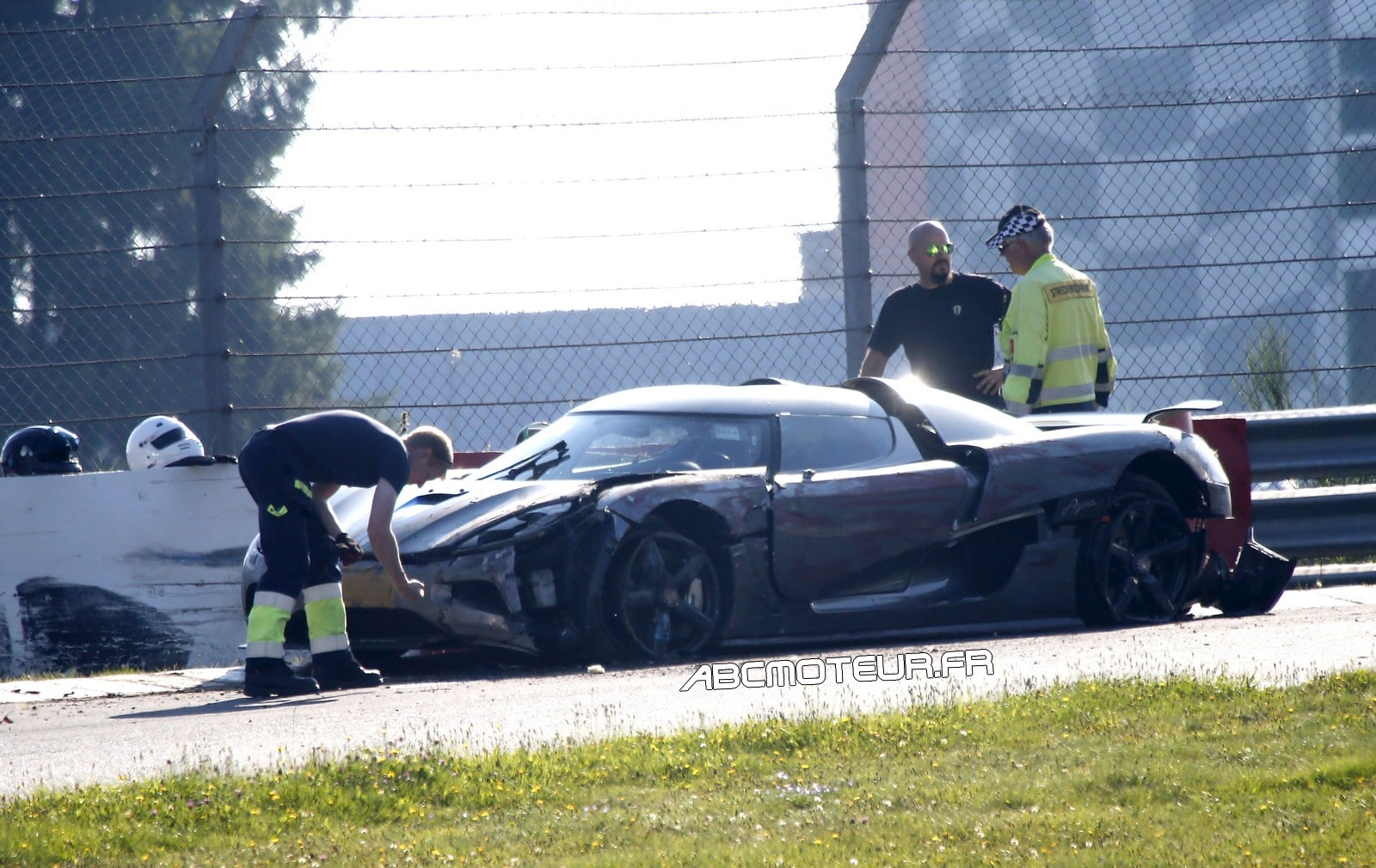 Nürburgring : une Koenigsegg Agera R lourdement accidentée