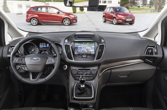 interieur Ford Grand C Max restyle