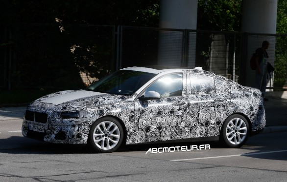 spyshot BMW Serie 1 Sedan