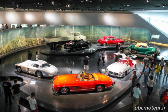 voitures anciennes musee Mercedes