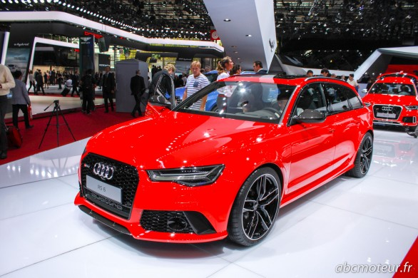 Audi RS 6 Avant Paris 2014