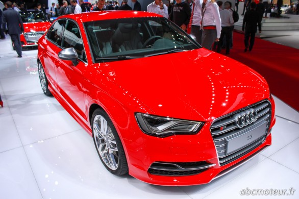 Audi S3 Berline Paris 2014