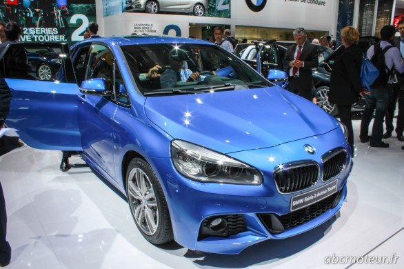 BMW Serie 2 Active Tourer M Sport Paris 2014
