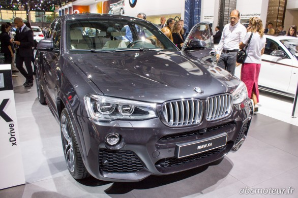 BMW X4 Paris 2014