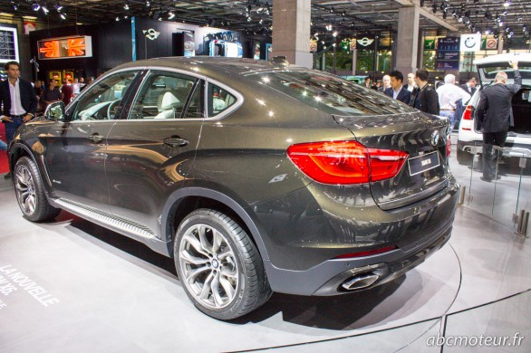 BMW X6 xDrive50i Paris 2014
