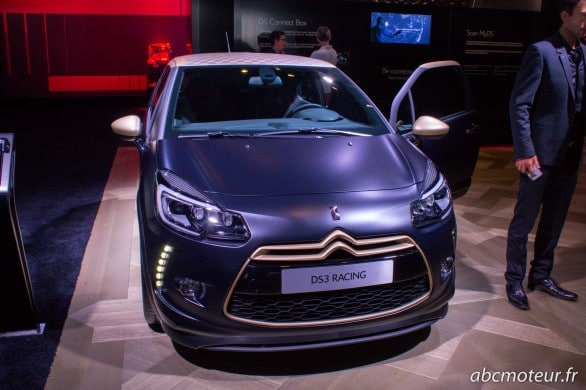 DS3 Racing led xenon Paris 2014
