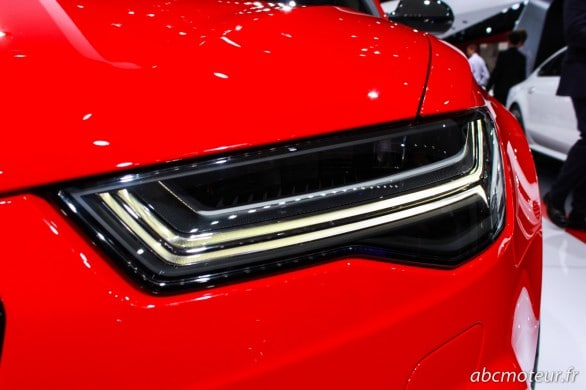 Matrix LED RS6 Avant Paris 2014