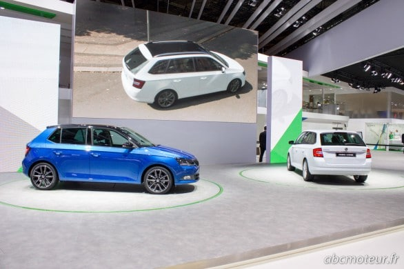 Skoda Fabia berline break Mondial Auto 2014