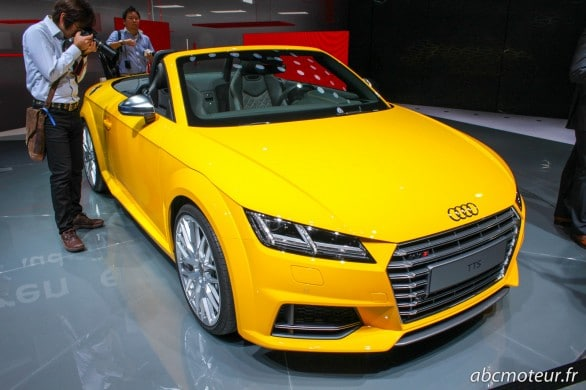 TTS roadster Paris 2014