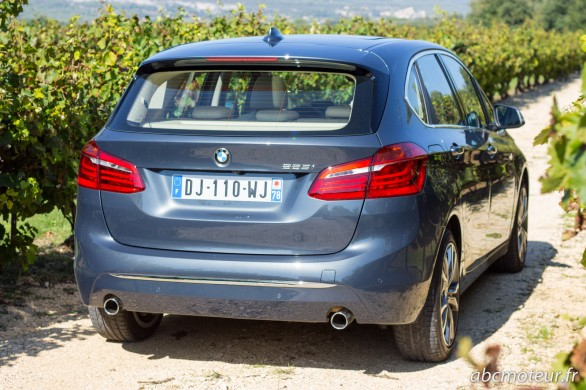 arriere BMW Serie 2 Active Tourer