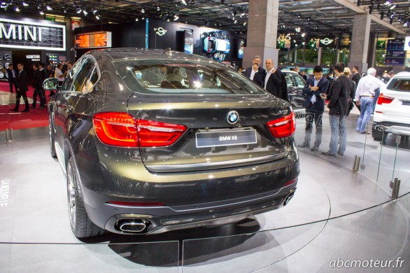 arriere BMW X6 Paris 2014