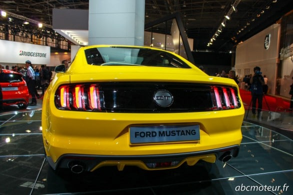 arriere Ford Mustang Paris 2014