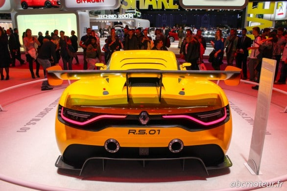 arriere Renault RS 01 Mondial Auto 2014