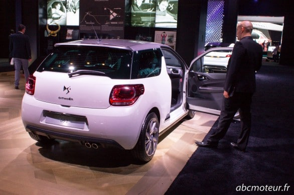 arriere nouvelle DS 3 Paris 2014