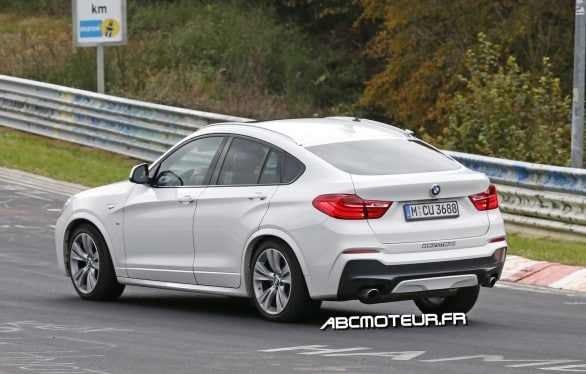 photo espion BMW X4 M40i