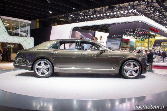 profil Bentley Mulsanne Speed Paris 2014