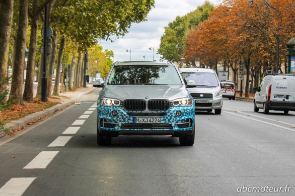 test BMW X5 eDrive Concept