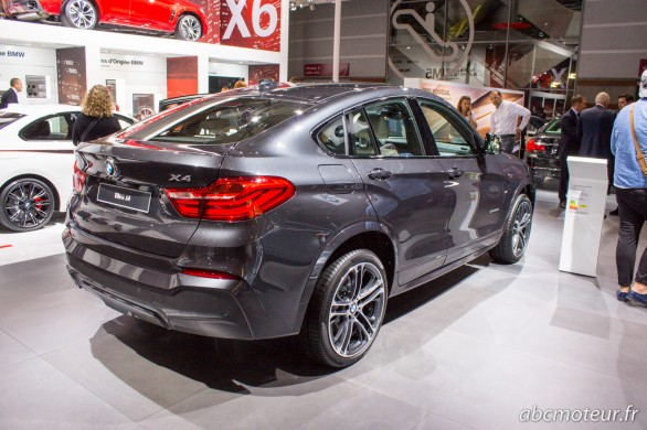 vue 3-4 ar BMW X4 Paris 2014