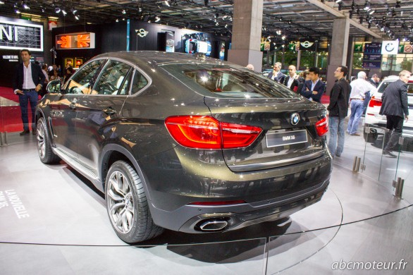 vue 3-4 ar BMW X6 Paris 2014