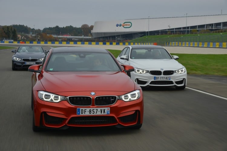 BMW M4 Coupe M3 Berline M4 Cabriolet