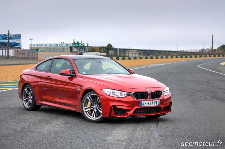 BMW M4 Coupe circuit