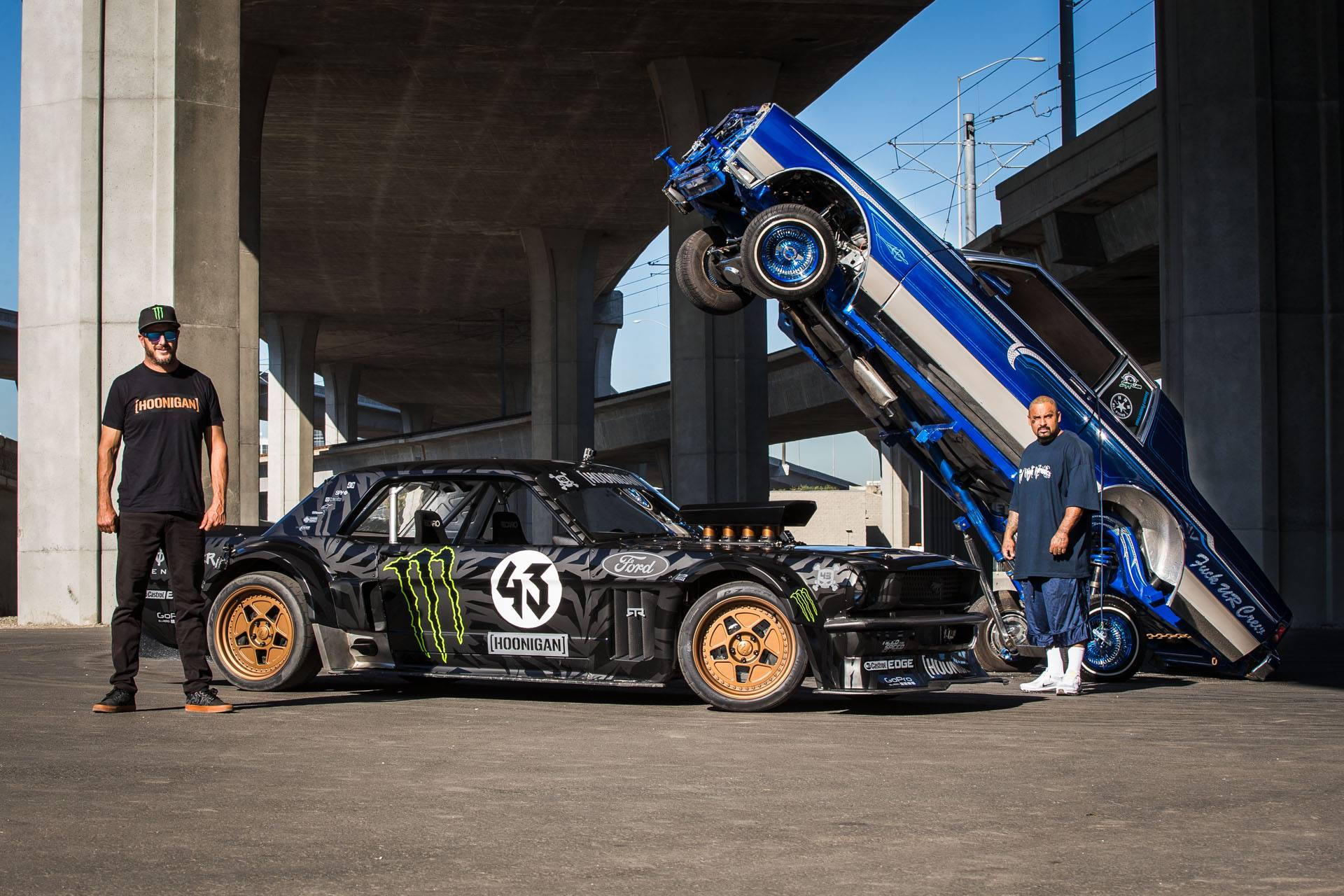 la derni re vid o de ken block en mustang dans los angeles. Black Bedroom Furniture Sets. Home Design Ideas