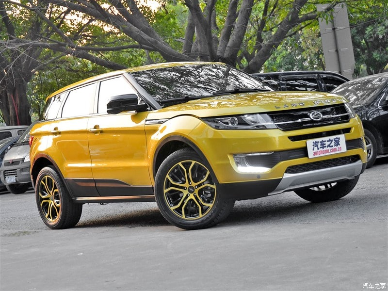 landwind x7 copie parfaite du range rover evoque. Black Bedroom Furniture Sets. Home Design Ideas