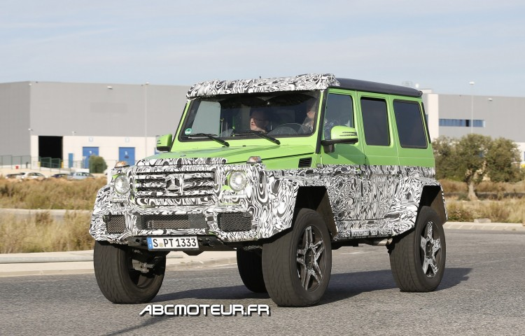 Mercedes G 63 AMG 4x4 Green Monster