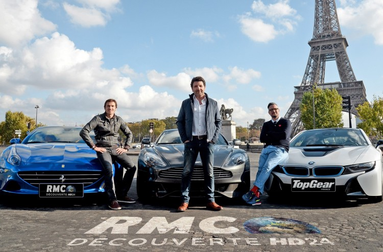 animateurs top gear france