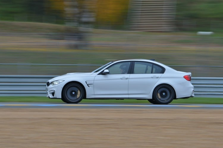 circuit BMW M3 Berline