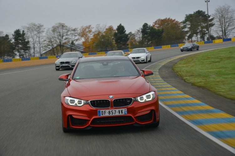 circuit BMW M4 Coupe Sakhir Orange
