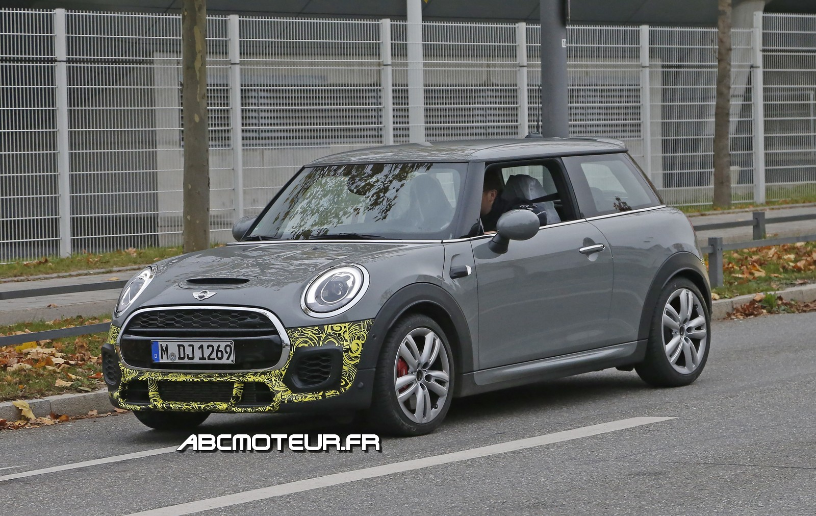 Spy-shots : la nouvelle Mini JCW