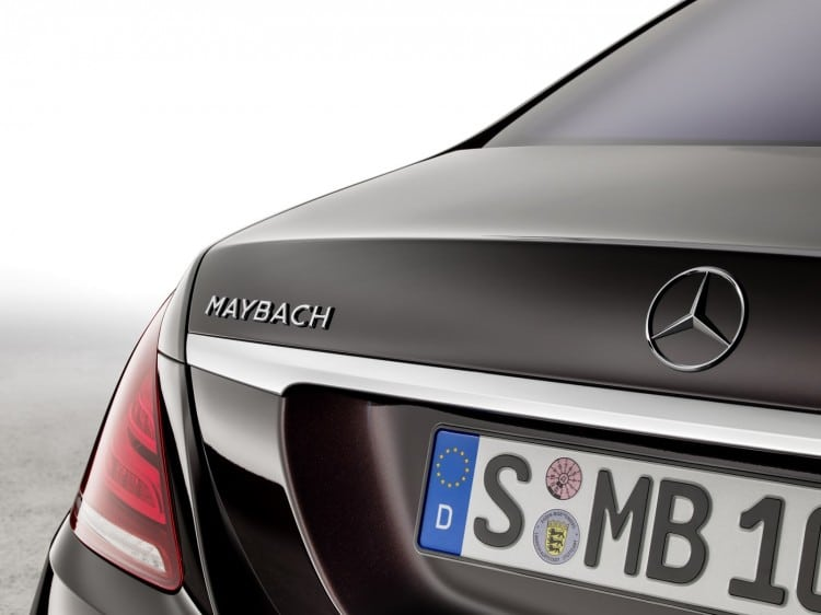 inscription malle Maybach-Mercedes-Classe S