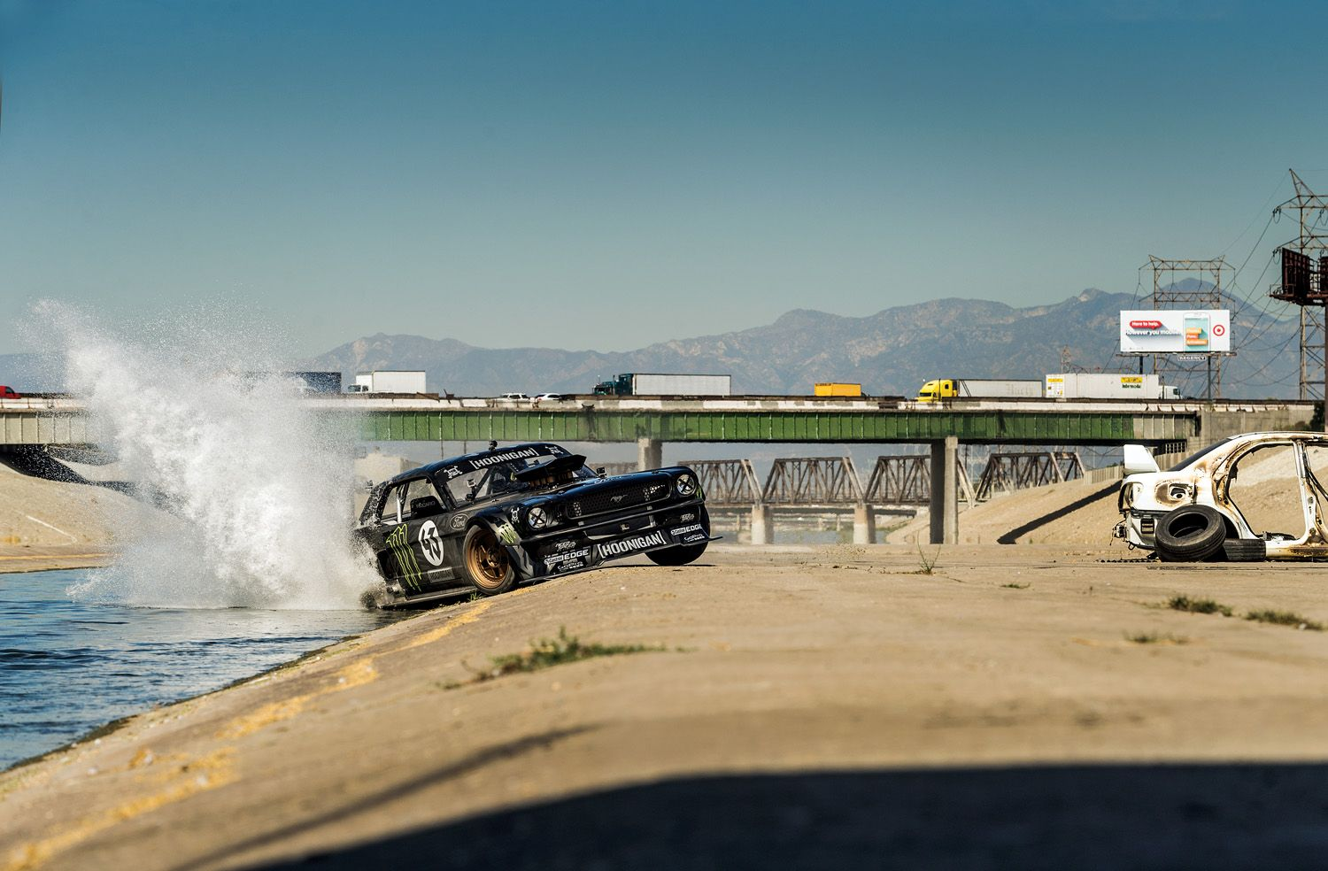 La Derni 232 Re Vid 233 O De Ken Block En Mustang Dans Los Angeles