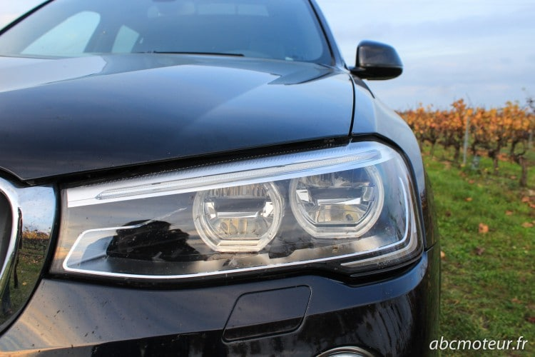 optique full led BMW X3 xDrive 35d